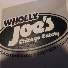 Photo taken at Wholly Joe's Chicago Eatery by Stacey W. on 3/9/2012