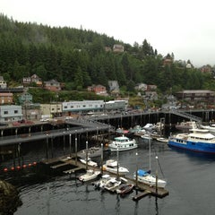 Photo taken at Ketchikan, Alaska Pier One by Nana...na on 8/3/2012