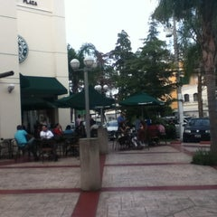 Photo taken at Plaza Sanzio by Gustavo O. on 9/6/2012