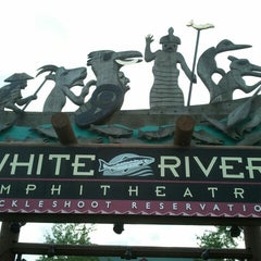 Photo taken at White River Amphitheatre by Damond N. on 6/14/2012