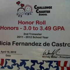 Photo taken at Challenge School, Inc. by Julian Hillel W. on 4/19/2012