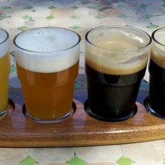 Photo taken at Peg's Cantina & Brew Pub by Mike B. on 4/8/2012