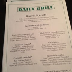 Photo taken at Daily Grill - Georgetown by Brian W. on 7/22/2012