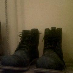 Photo taken at Wayout 'Rock n Roll Wear' Gallery by febri s. on 3/15/2012