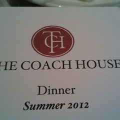 Photo taken at The Coach House by John F. on 8/18/2012