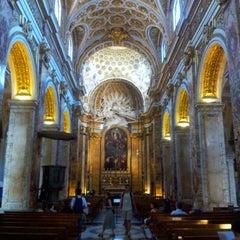 Photo taken at Chiesa di San Luigi dei Francesi by Eduardo C. on 7/16/2012