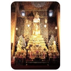 Photo taken at วัดพิชยญาติการาม (วัดพิชัยญาติ) Wat Phichaiyatikaram by Panda P. on 5/24/2012