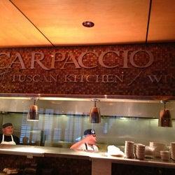 Carpaccio Italian Kitchen corkage fee