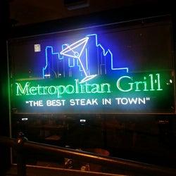 Metropolitan Grill corkage fee