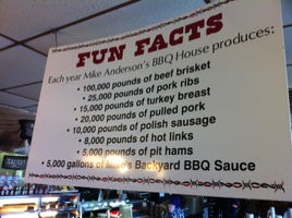 Mike Anderson's BBQ House