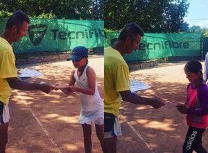 Теннисные корты в Стрелецкой