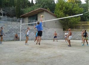 Волейбольная площадка в Кацивели