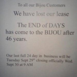 Bijou Theater und Sexclub