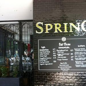 Spring: Cafe