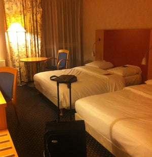 Tussenstop op weg naar Berlijn (@ Mercure Aeroport Hotel Lille in Lille, Nord-Pas-de-Calais) https://t.co/NbaA4BsOWy