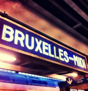 Laatste etappe Berlijn - Heide via Lille. (@ Gare de Bruxelles-Midi / Station Brussel-Zuid) https://t.co/bMNnMYlQp2