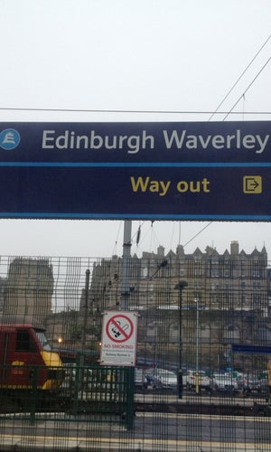 Edinburgh Waverley Railway Station (EDB)