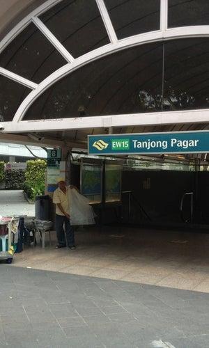 Tanjong Pagar MRT Station (EW15)