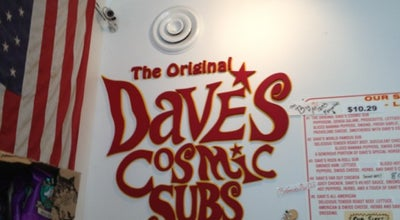 Photo of Sandwich Place Dave's Cosmic Subs at 1842 Coventry Rd, Cleveland Heights, OH 44118, United States