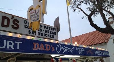 Photo of Dessert Shop Dad's Original Frozen Banana at 318 Marine Ave, Newport Beach, CA 92662, United States