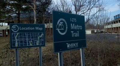 Photo of Trail I-275 Metro Trail / Michigan Ave at Mich Ave, Canton, MI, United States