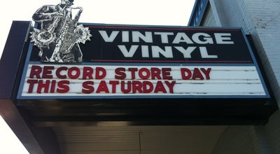 Photo of Record Shop Vintage Vinyl at 6610 Delmar Blvd, Saint Louis, MO 63130, United States