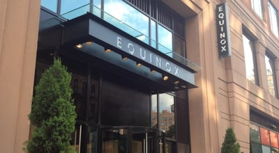 Photo of Gym / Fitness Center Equinox Fitness at 344 Amsterdam Ave, New York, NY 10024, United States