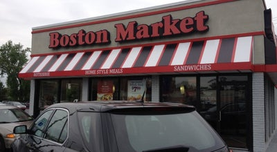 Photo of American Restaurant Boston Market at 321 Broad Ave, Ridgefield, NJ 07657, United States
