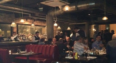 Photo of New American Restaurant Hoxton Grill at 81 Great Eastern St, Hoxton EC2A 3HU, United Kingdom