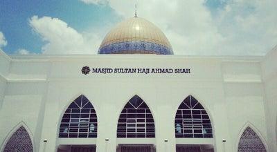 Photo of Mosque IIUM Mosque (Masjid Sultan Haji Ahmad Shah) at Jalan Sultan Ahmad Shah, Kuantan 25200, Malaysia