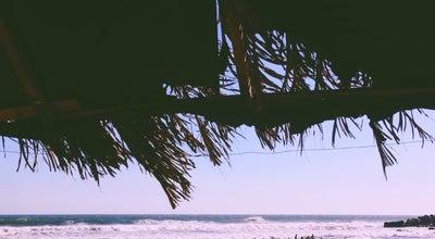 Photo of Beach Malecon de El Cuco at Playa El Cuco, El Cuco, El Salvador