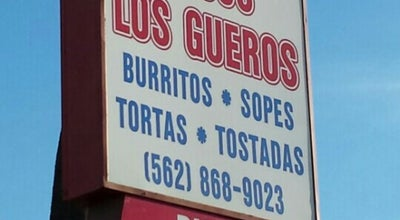 Photo of Mexican Restaurant Tacos Los Gueros at 12115 Firestone Blvd, Norwalk, CA 90650, United States