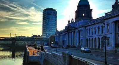 Photo of Government Building The Custom House at Teach An Chustaim, Custom House Quay, Dublin 1, Ireland