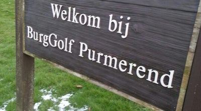 Photo of Golf Course BurgGolf at Westerweg 60, Purmerend 1445AD, Netherlands