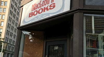 Photo of Bookstore MacLeod's Books at 455 Pender St W, Vancouver, BC V6B 1V2, Canada