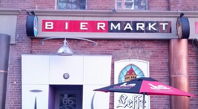 Photo of Belgian Restaurant Bier Markt Esplanade at 58 The Esplanade, Toronto, ON M5E 1A6, Canada