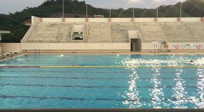 Photo of Pool สระว่ายน้ำม.แม่ฟ้าหลวง (MFU Swimming Pool) at Thailand