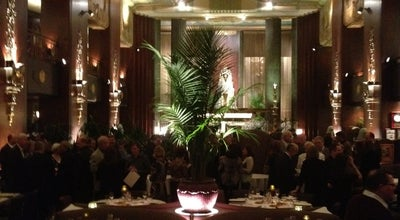Photo of New American Restaurant Orchids at Palm Court at 35 W 5th St, Cincinnati, OH 45202, United States