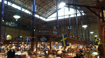 Photo of Gourmet Shop Östermalms Saluhall at Humlegårdsgatan 1, Stockholm 114 46, Sweden