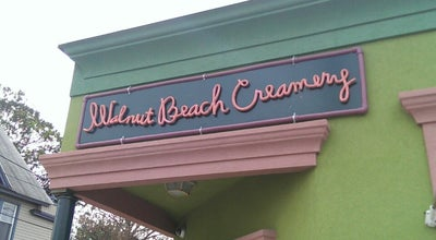 Photo of Ice Cream Shop Walnut Beach Creamery at 19 Broadway, Milford, CT 06460, United States