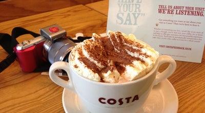 Photo of Coffee Shop Costa Coffee at 12 Butcher Row, Salisbury SP1 1EP, United Kingdom