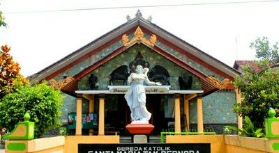 Photo of Church Gereja St. Maria Tak Bercela at Karang, Jatisarono, Nanggulan, Kulon Progo 55671, Indonesia