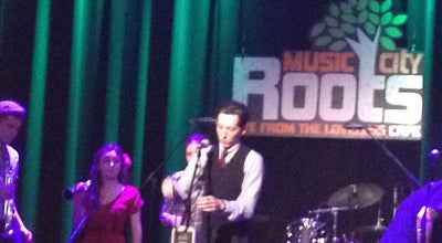 Photo of Performing Arts Venue Music City Roots at 8400 Highway 100, Nashville, TN 37221, United States