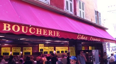 "Photo of Butcher Boucherie Saint François ""Chez Francis"" at Rue Saint François, Nice, France"