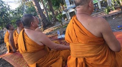 Photo of Arcade วัดแจ้งเจริญดอน หนองมน ชลบุรี at Thailand