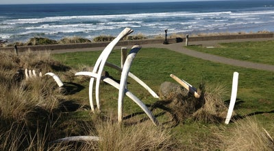 Photo of Science Museum Whale Bones at Newport, OR 97365, United States