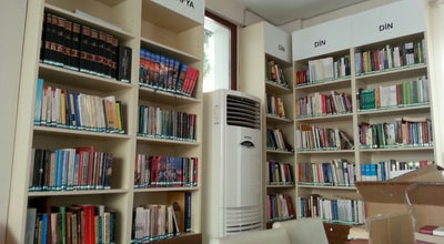 Photo of Library Salı Pazarı Kütüphane at Turkey