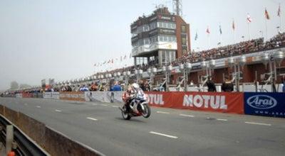Photo of Racetrack TT Grandstand (Isle of Man TT) at Glencrutchery Road, Douglas, Isle of Man