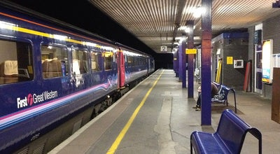 Photo of Train Station Oxford Railway Station (OXF) at Park End St, Oxford OX1 1HS, United Kingdom
