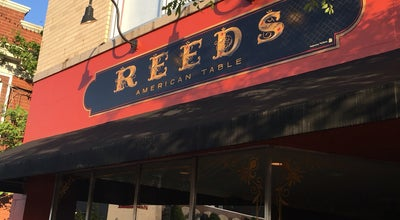 Photo of New American Restaurant Reed's American Table at 7323 Manchester Rd., Maplewood, MO 63143, United States